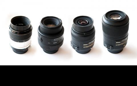 Four Nikon Macros